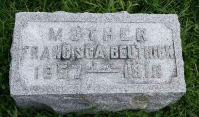BODES BEUTHIEN, FRANCISCA - Cedar County, Iowa | FRANCISCA BODES BEUTHIEN