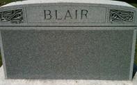 BLAIR, FAMILY MONUMENT - Cedar County, Iowa | FAMILY MONUMENT BLAIR