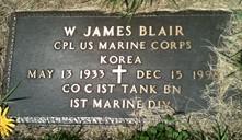 BLAIR, WILLIAM JAMES