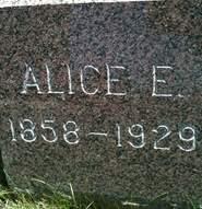 BLAZER, ALICE ELLEN - Cedar County, Iowa | ALICE ELLEN BLAZER