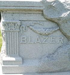 BLAZER, FAMILY MONUMENT - Cedar County, Iowa | FAMILY MONUMENT BLAZER