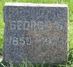 BLAZER, GEORGE W. - Cedar County, Iowa | GEORGE W. BLAZER