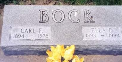 REGENNITTER BOCK, ELLA D. - Cedar County, Iowa | ELLA D. REGENNITTER BOCK