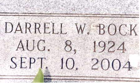 BOCK, DARRELL W. - Cedar County, Iowa | DARRELL W. BOCK