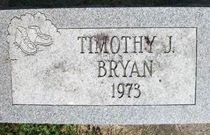 BRYAN, TIMOTHY J. - Cedar County, Iowa   TIMOTHY J. BRYAN