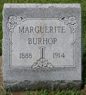 BURHOP, MARGUERITE - Cedar County, Iowa | MARGUERITE BURHOP