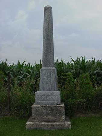 BURNETT, THOMAS H. - Cedar County, Iowa | THOMAS H. BURNETT
