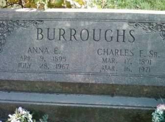 BURROUGHS, CHARLES F. - Cedar County, Iowa   CHARLES F. BURROUGHS