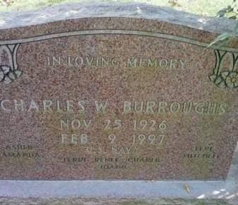 BURROUGHS, CHARLES W. - Cedar County, Iowa | CHARLES W. BURROUGHS
