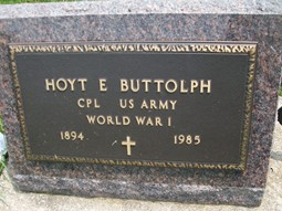 BUTTOLPH, HOYT EVERETT - Cedar County, Iowa | HOYT EVERETT BUTTOLPH