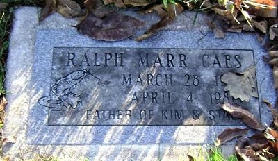 CAES, RALPH MARR - Cedar County, Iowa | RALPH MARR CAES