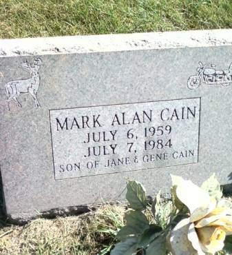 CAIN, MARK ALAN - Cedar County, Iowa | MARK ALAN CAIN