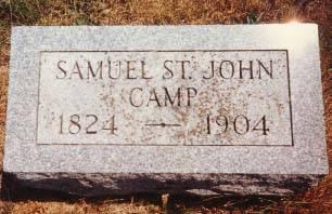 CAMP, SAMUEL ST. JOHN - Cedar County, Iowa | SAMUEL ST. JOHN CAMP
