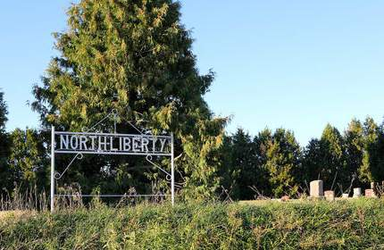 NORTH LIBERTY, CEMETERY - Cedar County, Iowa | CEMETERY NORTH LIBERTY