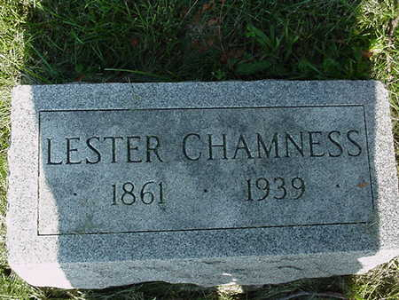 CHAMNESS, LESTER - Cedar County, Iowa | LESTER CHAMNESS