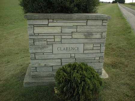 CLARENCE, CEMETERY - Cedar County, Iowa | CEMETERY CLARENCE