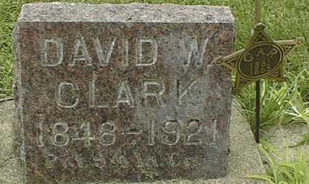 CLARK, DAVID W. - Cedar County, Iowa | DAVID W. CLARK