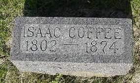 COFFEE, ISAAC - Cedar County, Iowa | ISAAC COFFEE