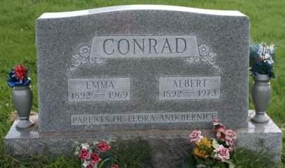 CONRAD, EMMA - Cedar County, Iowa | EMMA CONRAD