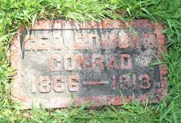 CONRAD, GEO. EDMUND - Cedar County, Iowa | GEO. EDMUND CONRAD