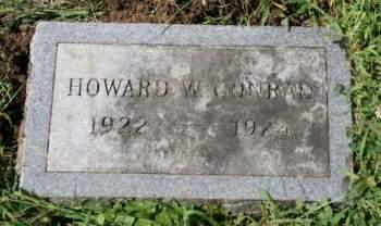 CONRAD, HOWARD W. - Cedar County, Iowa | HOWARD W. CONRAD