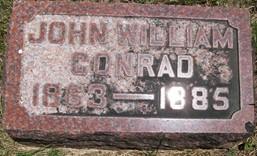 CONRAD, JOHN WILLIAM - Cedar County, Iowa | JOHN WILLIAM CONRAD