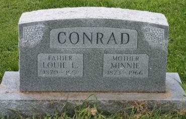 CONRAD, LOUIE E. - Cedar County, Iowa | LOUIE E. CONRAD