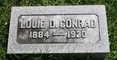 CONRAD, LOUIE D. - Cedar County, Iowa | LOUIE D. CONRAD