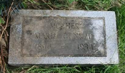 CONRAD, MARIA - Cedar County, Iowa | MARIA CONRAD