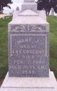 COSGRIFF, MARY J. - Cedar County, Iowa | MARY J. COSGRIFF