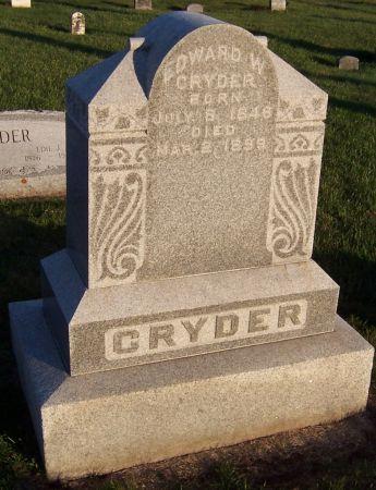 CRYDER, EDWARD W. - Cedar County, Iowa | EDWARD W. CRYDER