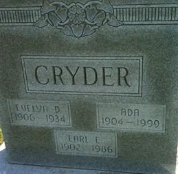 CRYDER, EARL E. - Cedar County, Iowa | EARL E. CRYDER