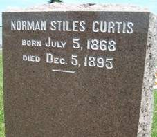 CURTIS, NORMAN STILES - Cedar County, Iowa | NORMAN STILES CURTIS