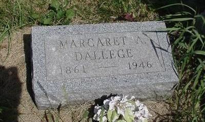 DALLEGE, MARGARET - Cedar County, Iowa | MARGARET DALLEGE