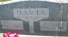 DAVIS, GERTRUDE E. - Cedar County, Iowa | GERTRUDE E. DAVIS