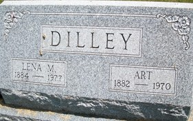 DILLEY, LENA M. - Cedar County, Iowa | LENA M. DILLEY