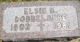 DOBBELAERE, ELSIE B. - Cedar County, Iowa | ELSIE B. DOBBELAERE