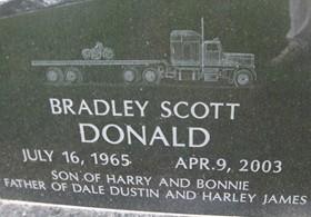 DONALD, BRADLEY SCOTT - Cedar County, Iowa | BRADLEY SCOTT DONALD