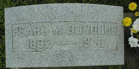 DONOHUE, PEARL M. - Cedar County, Iowa | PEARL M. DONOHUE