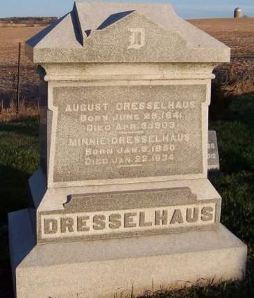 DRESSELHAUS, MINNIE - Cedar County, Iowa | MINNIE DRESSELHAUS