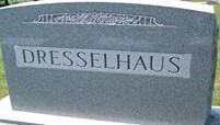 DRESSELHAUS, FAMILY MONUMENT - Cedar County, Iowa | FAMILY MONUMENT DRESSELHAUS