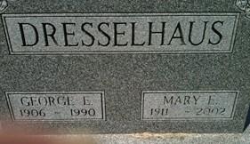 DRESSELHAUS, MARY E. - Cedar County, Iowa | MARY E. DRESSELHAUS