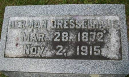 DRESSELHAUS, HERMAN - Cedar County, Iowa | HERMAN DRESSELHAUS
