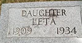 DRESSELHAUS, LETA - Cedar County, Iowa | LETA DRESSELHAUS