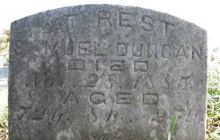 DUNCAN, SAMUEL JACKSON - Cedar County, Iowa | SAMUEL JACKSON DUNCAN