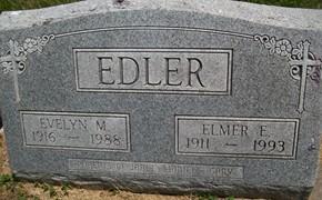SPENGLER EDLER, EVELYN M. - Cedar County, Iowa | EVELYN M. SPENGLER EDLER