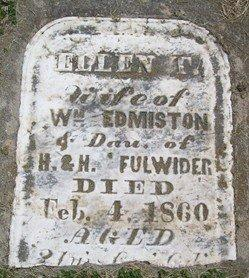 FULWIDER EDMISTON, ELLEN - Cedar County, Iowa | ELLEN FULWIDER EDMISTON