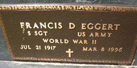 EGGERT, FRANCIS D. - Cedar County, Iowa | FRANCIS D. EGGERT
