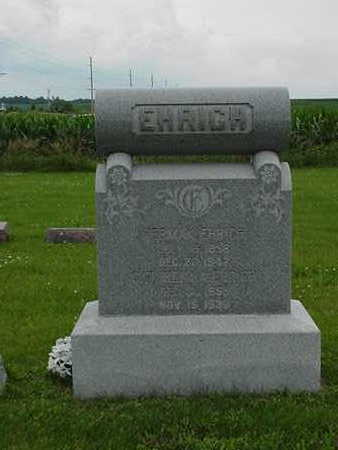 EHRICH, HERMAN - Cedar County, Iowa | HERMAN EHRICH