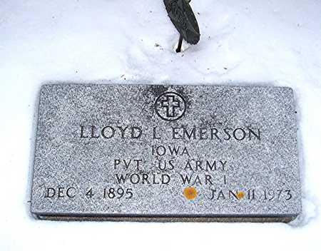 EMERSON, LLOYD L. - Cedar County, Iowa | LLOYD L. EMERSON